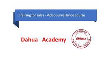 Dahua Academy 7 сентября 2021г.