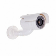 Муляж камеры уличной, цилиндрическая (белая) REXANT (45-0240)